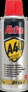 اسپری روان کننده Akfix A40، یک اسپری محافظتی چندمنظوره جهت جلوگیری از خوردگی سطوح میباشد.