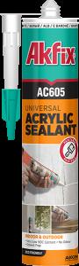 درزگیر اکریلیک آکفیکس Akfix AC605