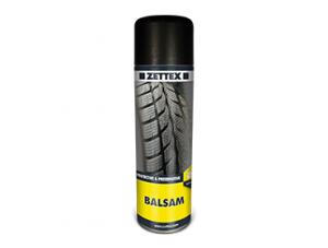 اسپری تایر خودرو زتکس BALSAM شفاف جهت محافظت از لاستیکها، PVC، چرم و انواع پلاستیکها در مقابل فرسایش و استهلاک میباشد.