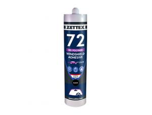 چسب خودرویی ZETTEX MS 72 مخصوص چسباندن انواع شیشه خودرو میباشد.