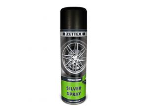 اسپری ضد زنگ خودرویی zettex silver spray، پوششی قابل رنگ آمیزی با سرعت خشک شدن بالاست.