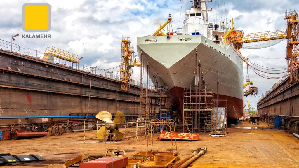 کاربرد چسب و درزگیر در صنعت دریایی
