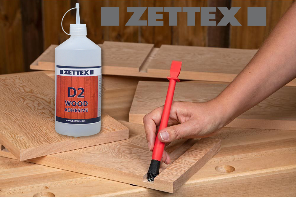 مشخصات چسب چوب زتکس Zettex D2 Wood Adhesive