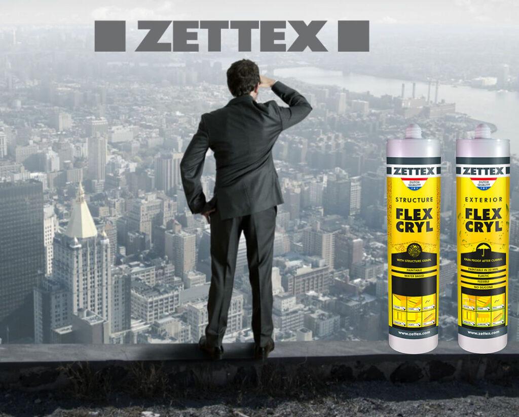 نصویر درزگیر اکریلیک زتکس Zettex Flexcry lExterior