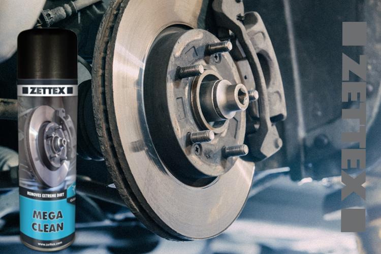 اسپری تمیزکننده قطعات و لنت ترمز شوی خودرو زتکس مدل Mega Clean Spray