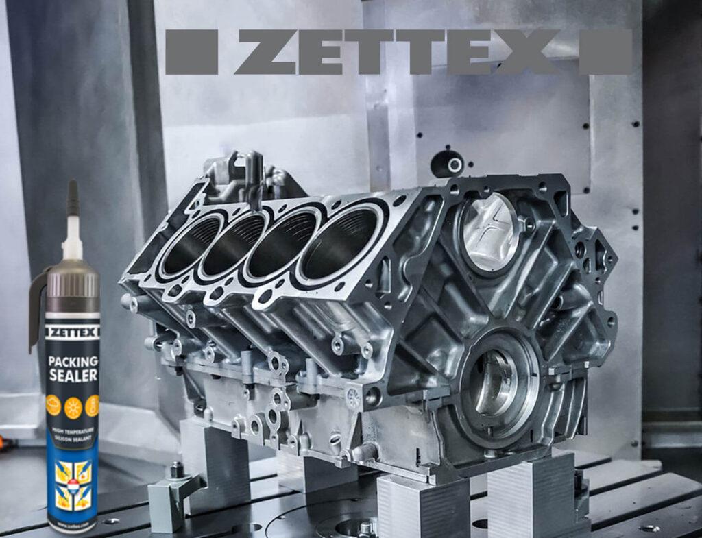 تصویر درزگیر واشرساز زتکس Zettex Packing Sealer