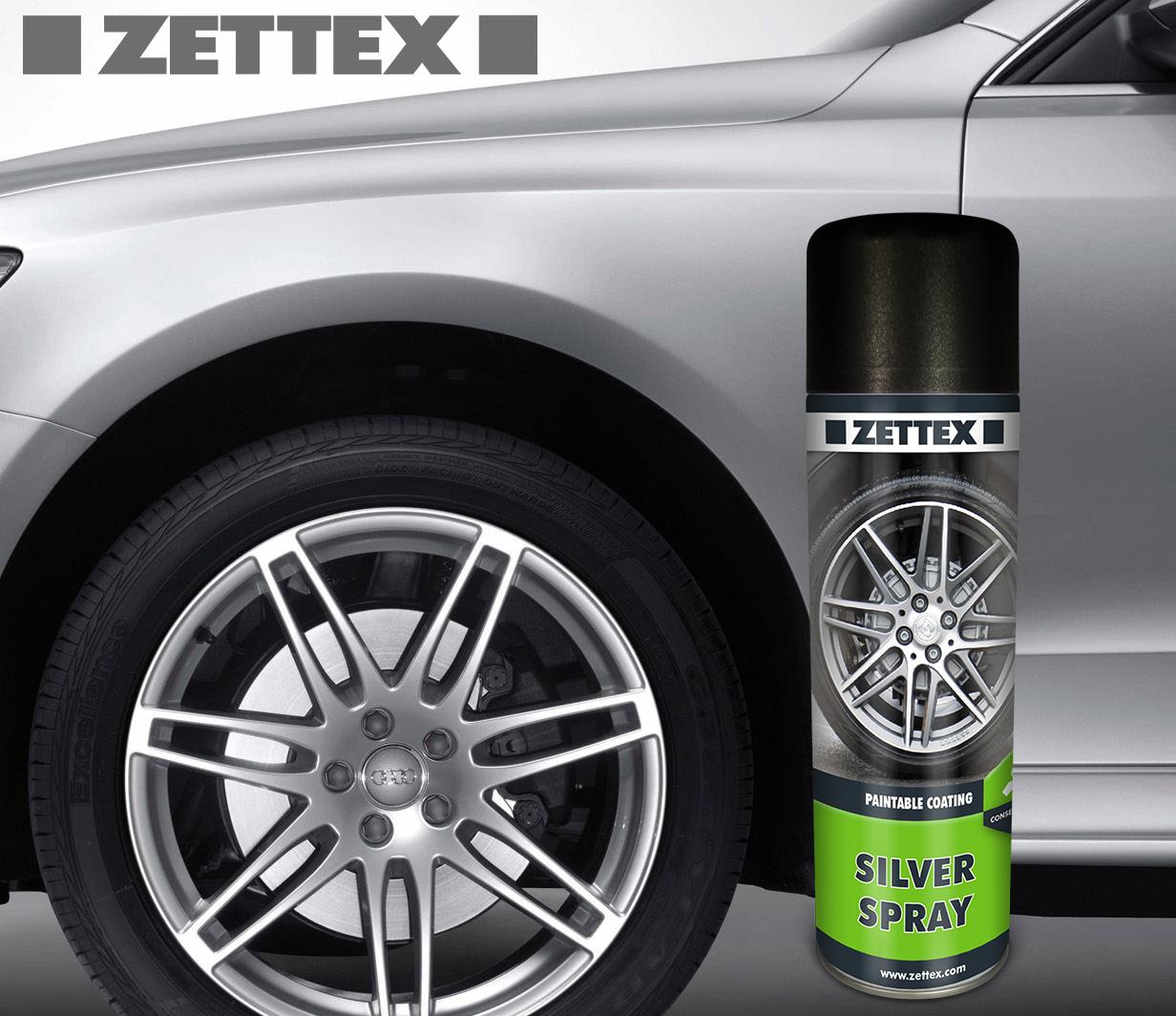 اسپری پوششی (حاوی) روی زتکس Zettex Silver Spray