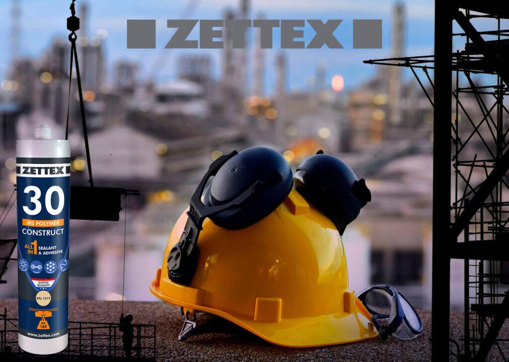 تصویر چسب و درزگیر زتکس Zettex Ms 30 Polymer