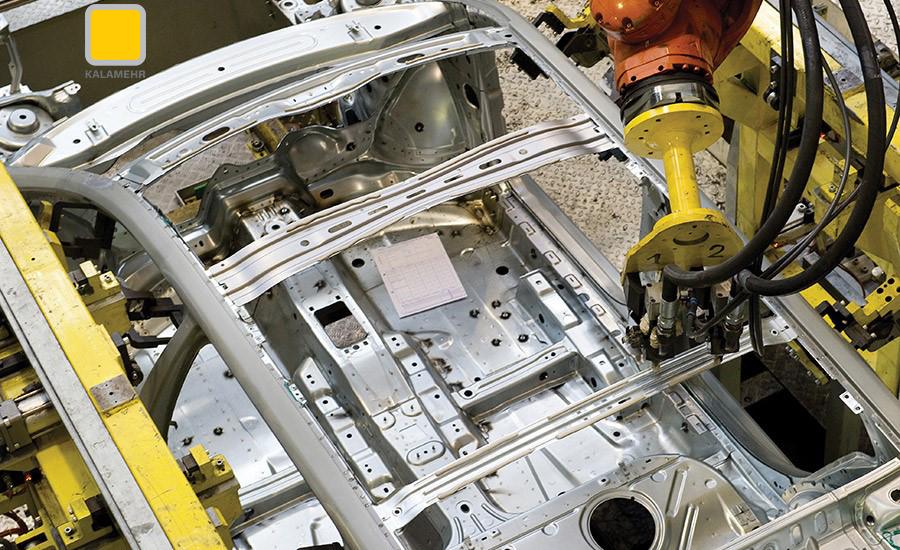 کاربرد رایج چسب ها در خودروسازی