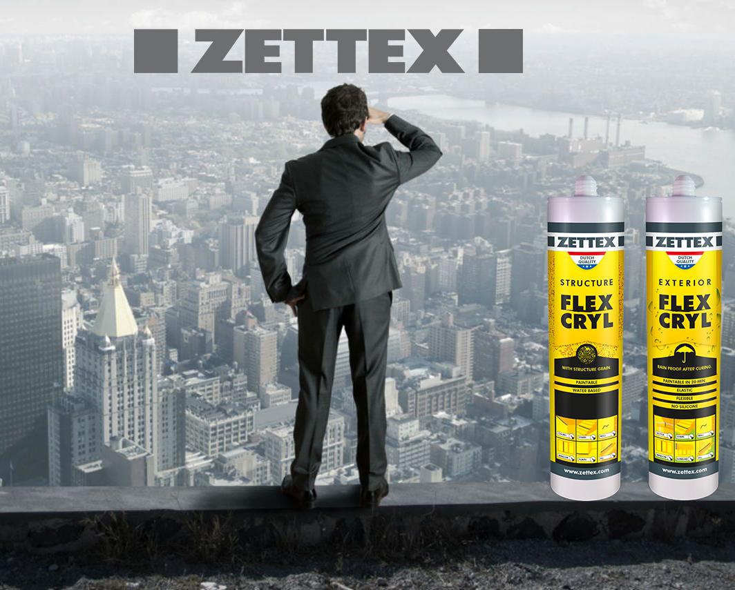 درزگیر اکریلیک زتکس Flexcryl Structure