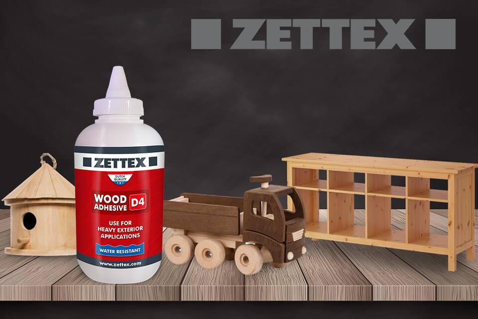 تصویر چسب چوب پلی اورتان زتکس Zettex D4 Wood Adhesive