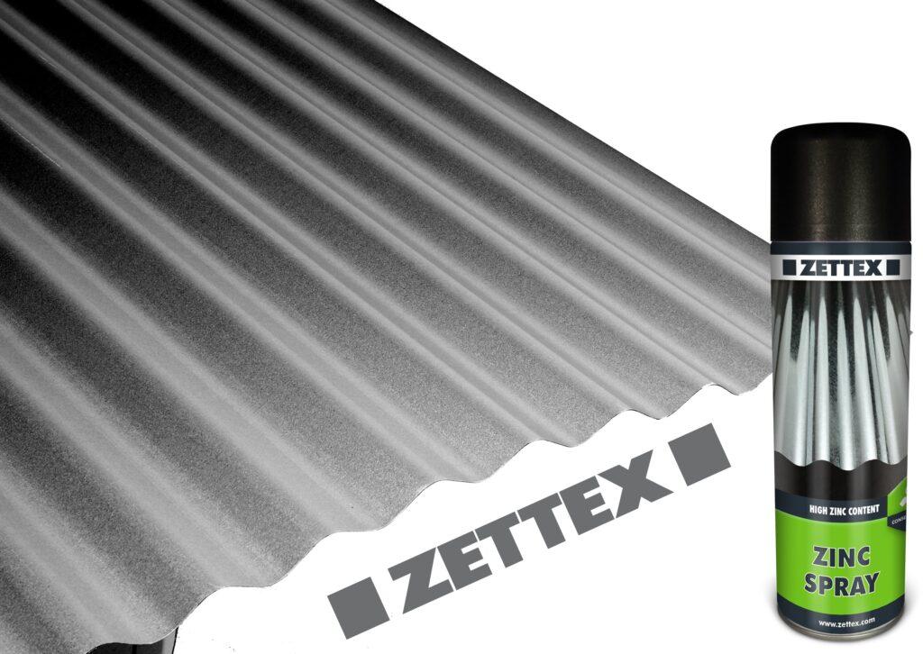 اسپری محافظتی روی زتکس Zettex Zinc Spray
