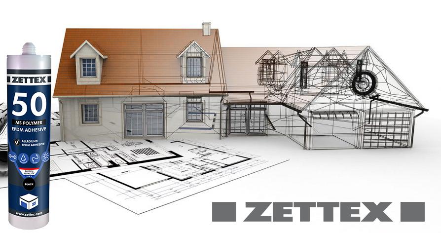چسب و درزگیر (انواع (EPDM / لاستیک) زتکس Zettex MS 50 Polymer