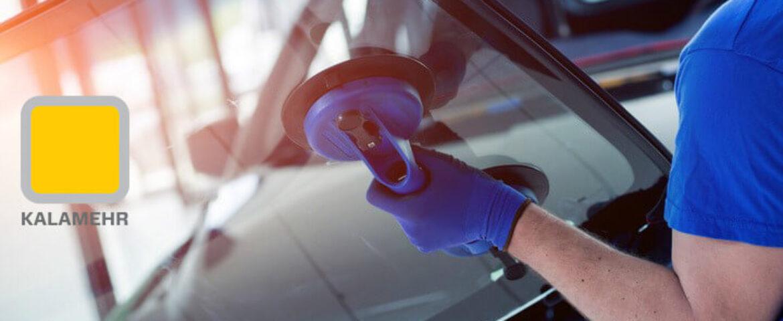 چگونگی استفاده از چسب ها در شیشه جلوی اتومبیل