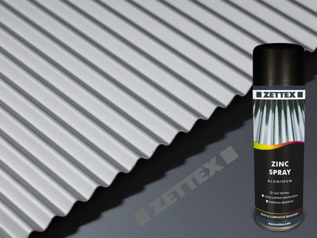 اسپری محافظتی زتکس Zettex Zinc Spray Aluminium