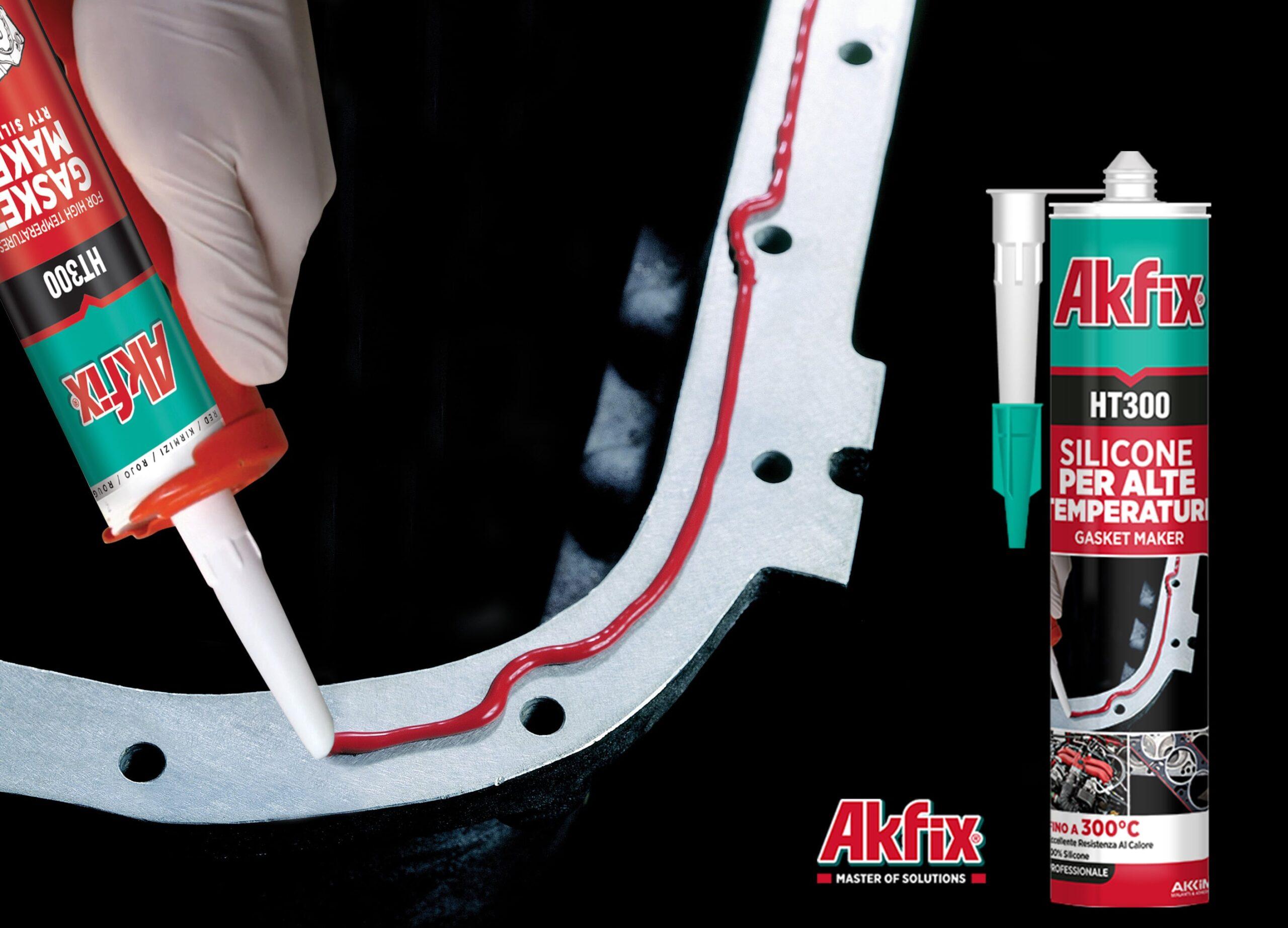 مشخصات درزگیر سیلیکونی آکفیکس Akfix HT300