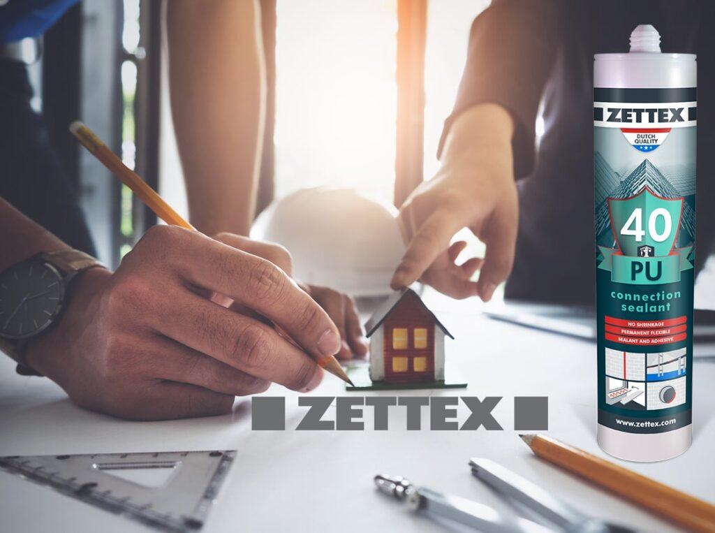 درزگیر و چسب پلی اورتانی Zettex PU 40