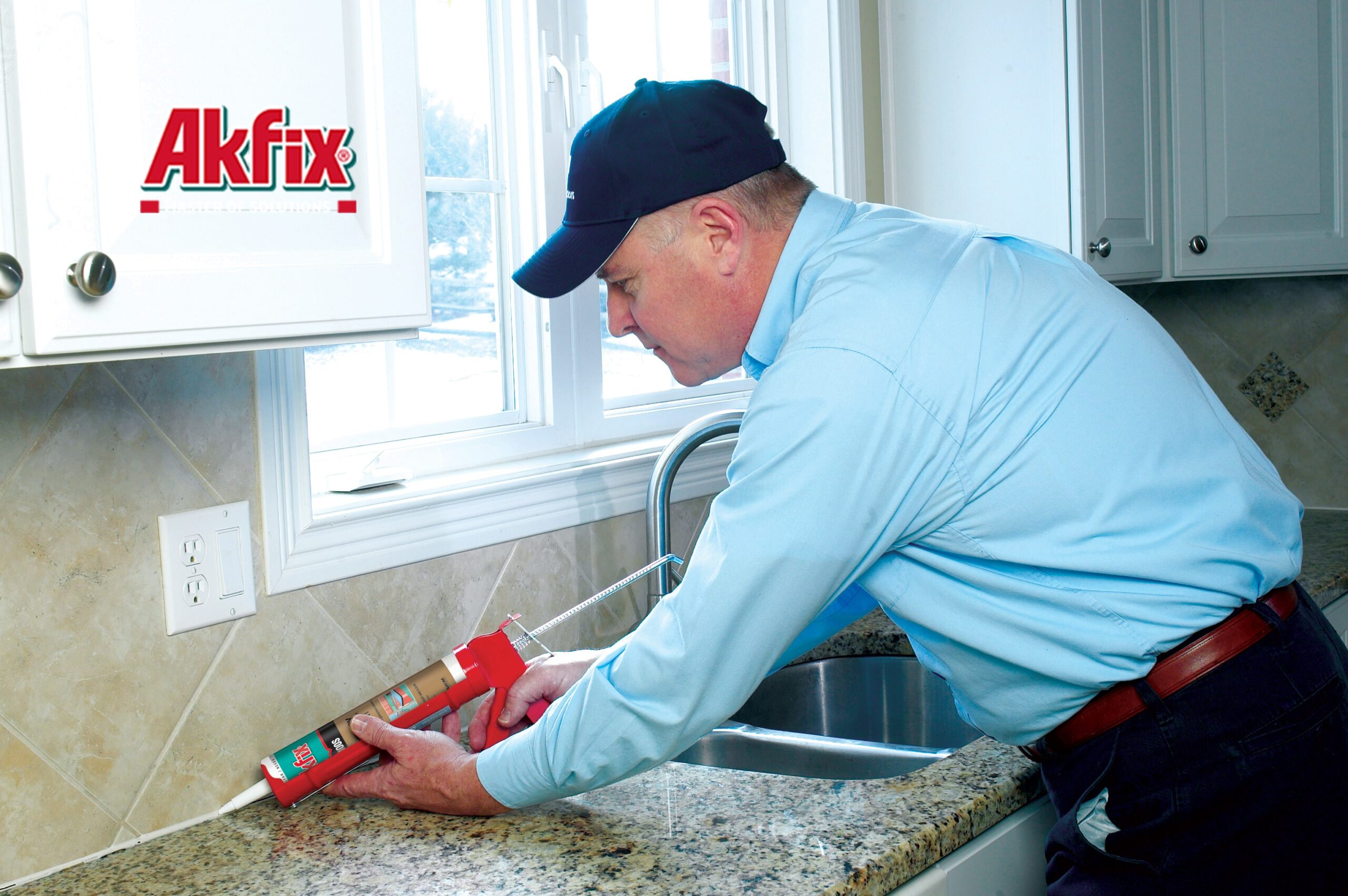 درزگیر سیلیکون اسیدی بهداشتی آکفیکس Akfix 100S