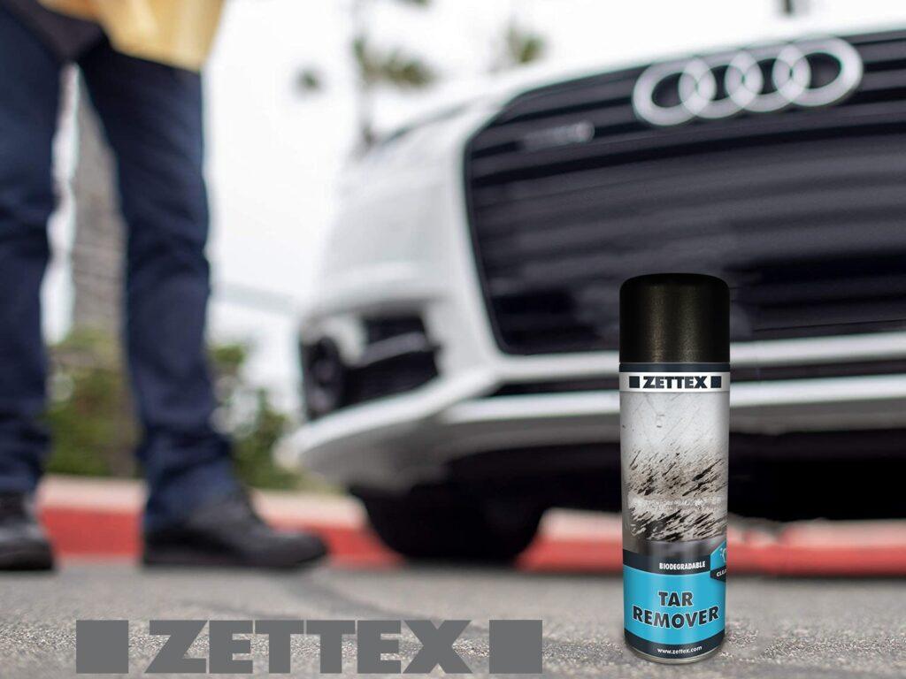 تصویر و کاربرد اسپری پاک کننده زتکس Zettex Tar Remover