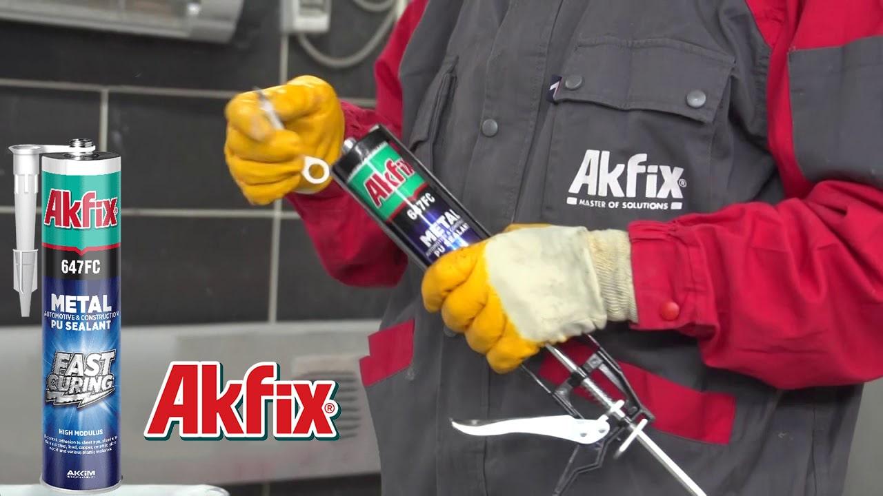 درزگیر پلی اورتانی با سرعت خشک شدن بالا آکفیکس Akfix 647FC