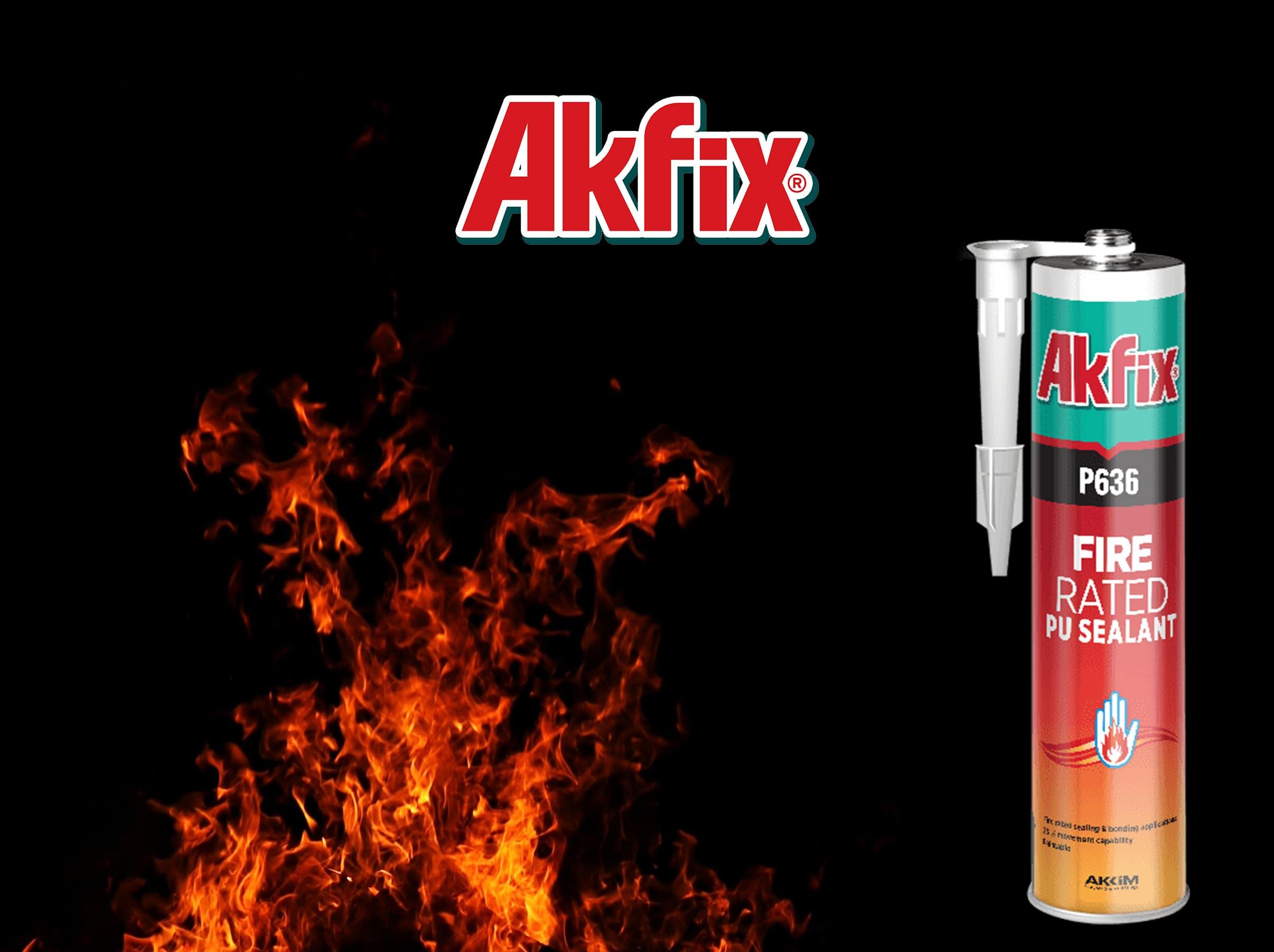 درزگیر پلی اورتانی ضد حریق آکفیکس Akfix P636