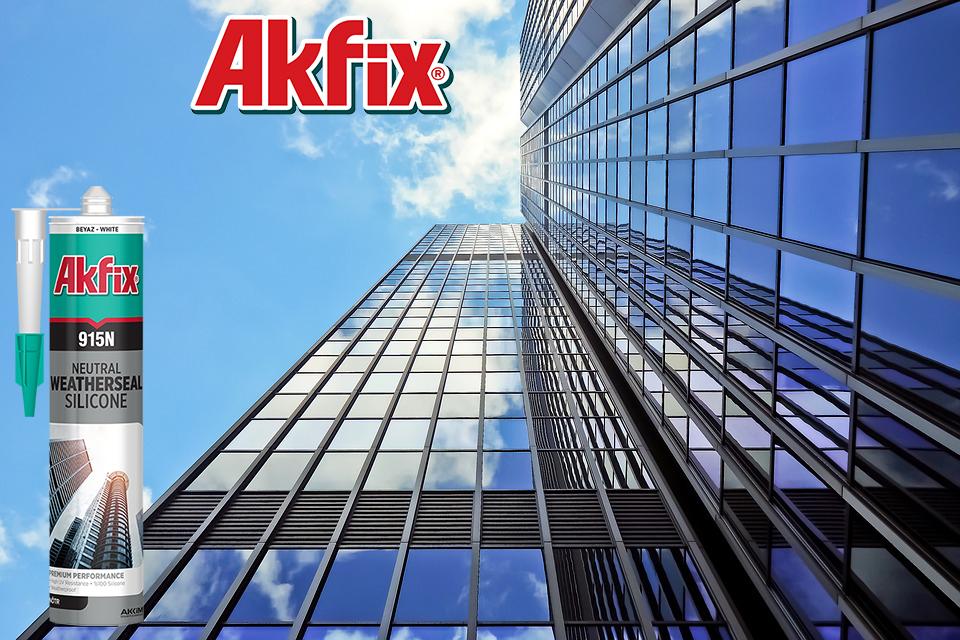 درزگیر سیلیکون خنثی آکفیکس Akfix 915N